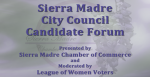 City Council Candidate Forum Tonight