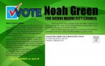 City Council Candidate Noah Green