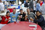 Runners enjoy a post-race beer, proceeds benefit SMSR, photo courtesy of City of Sierra Madre, click to enlarge