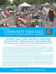 Do Spring Cleaning, Make a Little Money - Community Yard Sale