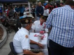 """Members of the VFW distributed Memorial Day """"Buddy Poppies"""""""