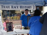 Diane Sands and Dr. Bill White educated folks about Trail Race History