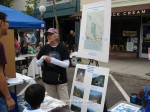 Sierra Madre Mountain Conservancy booth