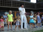 Harry Rocks Sierra Madre as Elvis - Photo Gallery and Video