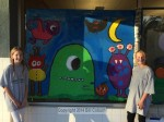 2014 Halloween Window Painting in Downtown Sierra Madre - Photo Gallery