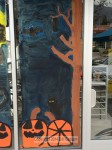 2014 Halloween Window Painting - Completed - Photo Gallery