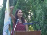 Mistress of Ceremonies Suzanna Guzman