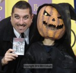 Winner of the scariest costume with Ernie G. of the SM Playhouse