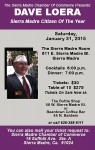Cmdr. Dave Loera Citizen Of The Year, Dinner Tickets on Sale Now