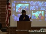 Congresswoman Judy Chu speaks about Loera's work in bringing VA treatment center to SGV