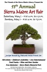Friends of the Sierra Madre Library 53rd ANNUAL SIERRA MADRE ART FAIR Next Weekend