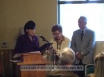 Congresswoman Judy Chu, Laurie Cooper, Mayor John Capoccia