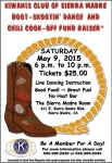 5th Annual Boot-Skootin' Dance and Chili Cook-Off This Saturday