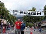 Dan - Fountain to the Falls, and Mark - Verdugo Hills 10k from the inaugural 3-race Foothill Trail Challenge