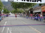 1st place female, Sally Tracy, 1:13:44