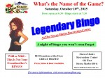 SMRFA Legendary Bingo Fundraiser Set for Oct. 10