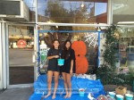 Civic Club Sponsored Halloween Window Painting a Huge Success - In Progress Photo Gallery