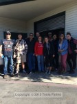 """Billy T., Dave, Andrew, Josh, Jake, Margaret, Kelly, Cory, Ricky, Tonia, Jolene, Cole, Tom, Brooke and Kelly went to pick up the """"snow"""""""
