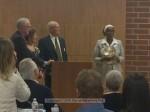 Clem, Nina, former Chamber president Doug Delahooke and Susan Henderson